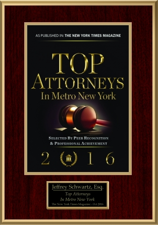 Jeffrey T. Schwartz top Attorneys New York Times